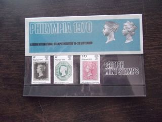 1970 Philympia Post Office Presentation Pack photo
