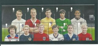 Gb Miniature Sheet - 2013 - Ms01 - Football Heroes - Unm photo