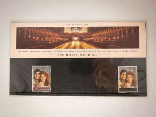 The Royal Wedding 1986 Royal Mail Stamp Pack - Prince Andrew & Fergie photo