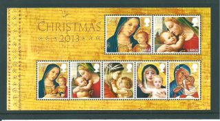 Gb Miniature Sheet - 2013 - Ms06 - Christmas - Unm photo
