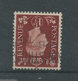 George Vi - 1937 - Sg464wi - Watermark Inverted - Cv £ 1.  25 - photo