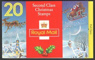 Lx5 / Db12 (8) 1993 20 X 19p Christmas Booklet photo