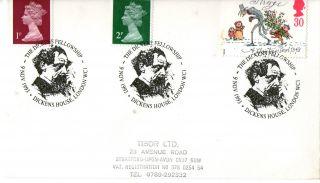 9 November 1993 Christmas Cover The Dickens Fellowship London Wc1 Shs (a) photo
