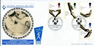 23 June 1998 Nhs Health Service Benham Blcs 143 First Day Cover Whitechapel Shs photo