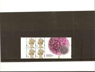 Hb20 Gb Stamp Booklet Pane Botanic Gardens Commemorative Label photo