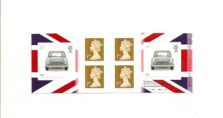 Pm17 Cyl Gb Royal Mail Stamp Booklet Design Classics 2 Mini photo