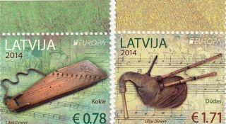 Latvia 2014,  Europa,  Music Instruments photo
