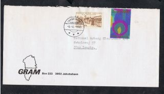 Greenland.  Cover W.  Sg106 1978,  250th Anniv Of Godthåb.  + Christmas Seal. photo