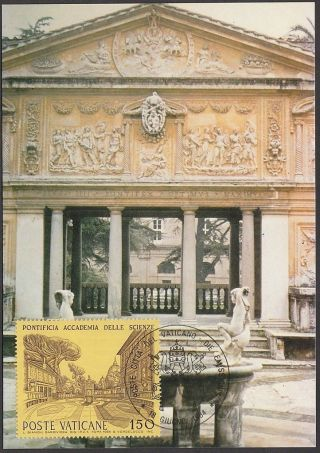 Vatican City 1984 Maxicard - Pontifical Academy Of Sciences (building) photo