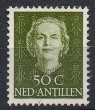 Netherlands Antilles 1950/79 Queen Juliana Issue 50c Value Mounted photo