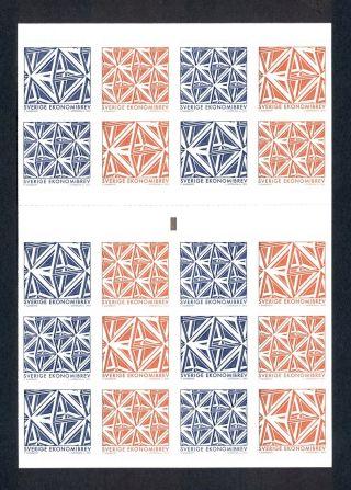 Sweden 2012 Geometrical Figures (geometriska Figurer) Booklet photo