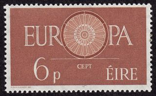 Ireland Scott 175 Stamp - Never Hinged - 1960 Europa Issue - photo