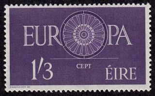 Ireland Scott 176 Stamp - Never Hinged - 1960 Europa Issue - photo
