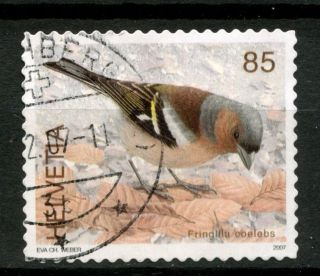 Switzerland 2006 - 9 Sg 1671 85c Birds Definitive A48984 photo