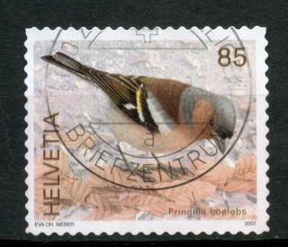 Switzerland 2006 - 9 Sg 1671 85c Birds Definitive A48985 photo