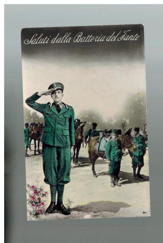 1937 Italy Army Infantry Propaganda Postcard Cover To Belgium photo