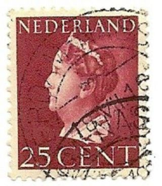 Netherlands Scott 223,  Queen Wilhelmina, ,  1940 - 1947 photo