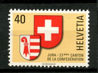 Switzerland 1978 Sg 966 Creation Of Canton Of Jura A49038 photo