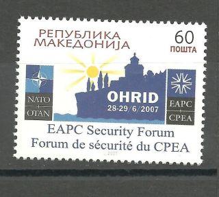 303 Macedonia 2007 Euro - Atlantic Forum - Nato photo
