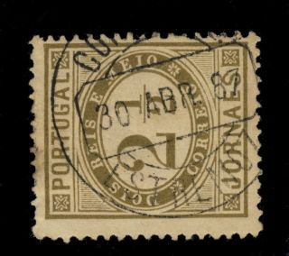Portugal - 1887 - Minr.  46ab 2 1/2r Cancelled By Estremoz Circular Date Stamp photo