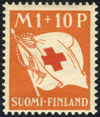 1930 Finland B2 - B4, ,  Fine,  Semi Postals,  Scott Cv $15.  00 photo