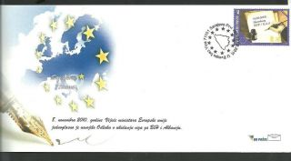 Bosnia 040 2011 Abolition Of Visas Fdc photo