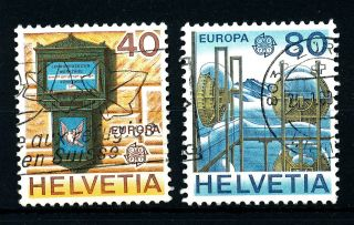 B82 Switzerland 1979 Sg975 - 6 Europa Fine photo