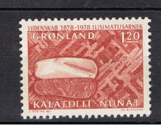 Greenland.  1978.  Centenary Of Commission For Scientific Research. . photo