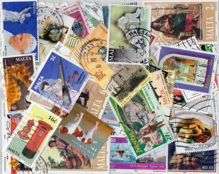 Malta 80± Commercially Commems & Definitives Circa Late 1990 ' S/early 2000 ' photo