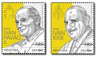 Croatia Canonisation Of Two Popes Pope John Paul Ii And Pope John Xxiii 2014 photo