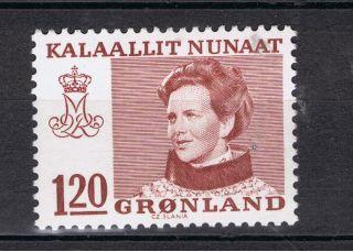 Greenland.  1978.  Queen Margrethe Of Denmark.  120 øre photo