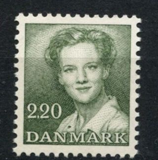 Denmark 1982 - 90 Sg 719,  2k20 Queen Margrethe Definitive A61261 photo