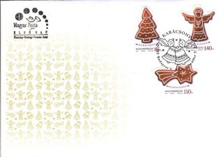 Hungary - 2013.  Fdc - Christmas / Gingerbread Christmas Cookies photo