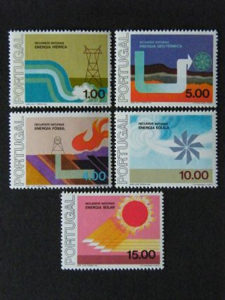 Portugal 1976 - Recursos Naturais (energia) - photo