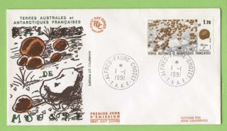 French Antarctic Territory 1991 Moss Balls First Day Cover photo