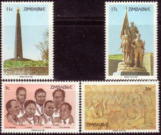 Zimbabwe 1984 Heroes ' Day photo