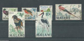 Malawi - 1968 - Sg310 Sg312 Sg314 Sg316 Sg320 & Sg321 - Cv £ 14.  45 - photo