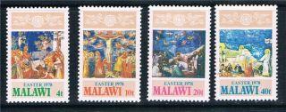 Malawi 1978 Easter Sg 562/5 photo