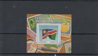 Namibia 2003 25th Anniv Windhoek Philatelic Society Sg 951 Namphilex Flag photo