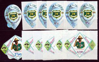 Sierra Leone 1969 Boy Scouts Diamond Jubilee Sg493/504 photo