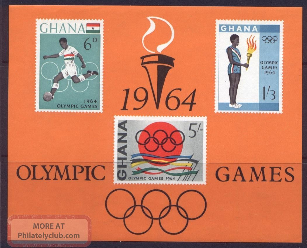 Ghana 185a Olympic Games,  Sports,  Soccer Africa photo