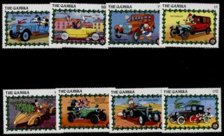 Gambia 928 - 37 Disney,  Santa,  Christmas,  Cars photo