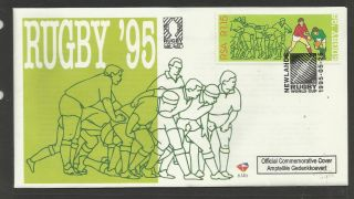 South Africa 1995 Rugby World Cup Single Value First Day Cover photo