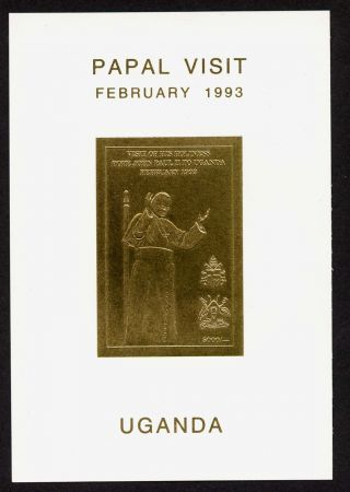 Uganda 1124 Pope John Paul Ii photo