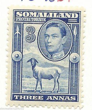 Somaliland - 1938 - Sg96 - Cv £ 17.  00 - Mounted photo
