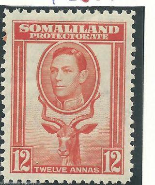 Somaliland - 1938 - Sg100 - Cv £ 17.  00 - Mounted photo