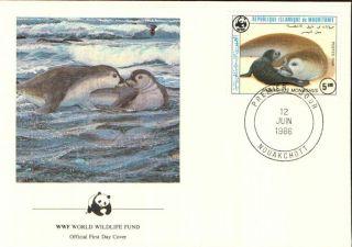 (72297) Fdc - Mauritania - Seals - 1986 photo