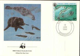 (72298) Fdc - Mauritania - Seals - 1986 photo
