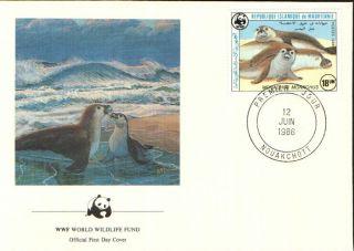 (72299) Fdc - Mauritania - Seals - 1986 photo