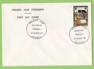 Benin 1988 Scouts Issue First Day Cover photo